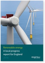 Renewable energy: A local progress report for England