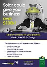 Mole Energy Commercial