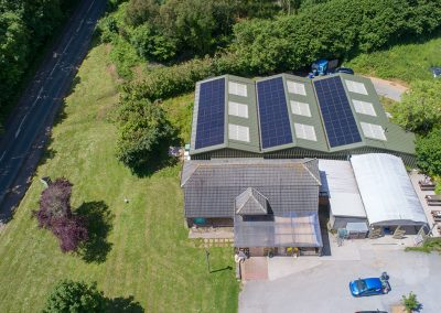 Ben's Farm Shop solar PV