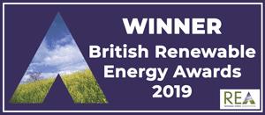 Winner British Renewable Energy Awards