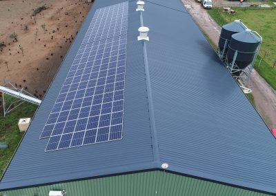 49kW system at a chicken farm in Somerset