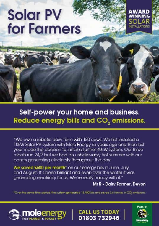 Mole Energy - Agricultural Specialists - solar for farmers
