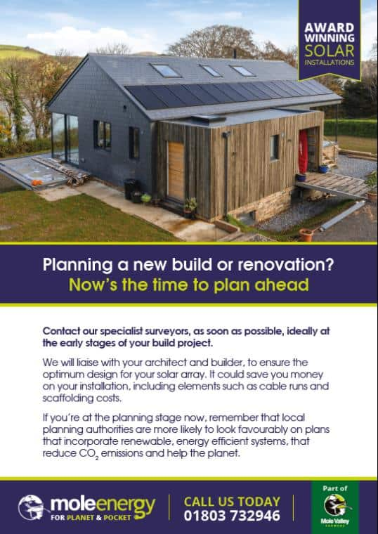 Mole Energy - New Builds and Renovations