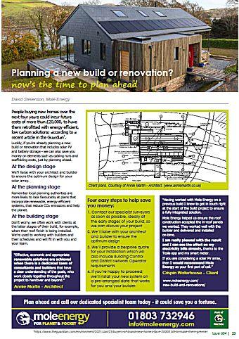 Mole Energy May 2021 Newsletter